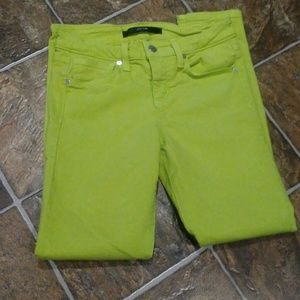 Joe Jeans skinny/ankle Bright Neon Color(25l